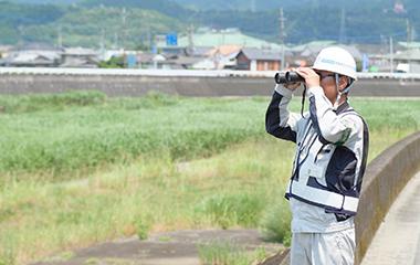河川巡視支援業務