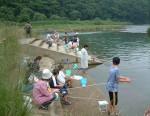 魚釣り菊池川  2   2  ①
