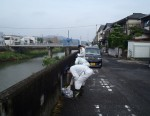 犬鳴川清掃活動1 500